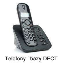 Telefony i bazy DECT